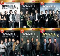 Schnell ermittelt - Die komplette 1. - 6. Staffel (19-DVD)