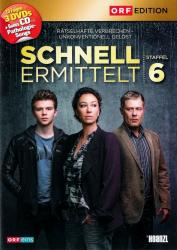 Schnell ermittelt - Die komplette 6. Staffel (3-DVD)