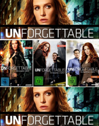 Unforgettable - Die komplette 1. + 2. + 3. Staffel (12-DVD)