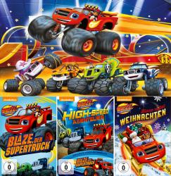 Blaze und die Monstermaschinen - Volume 1 + 2 + 3 (3-DVD)