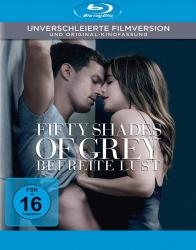 Fifty Shades of Grey 3 - Befreite Lust - Unverschleierte Filmversion + Original Kinofassung (Blu-ray)