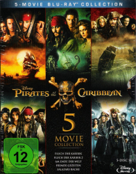 Fluch der Karibik 1 - 5: Pirates of the Caribbean: Box-Set (5-Blu-ray)