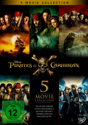 Fluch der Karibik 1 - 5: Pirates of the Caribbean - Box-Set (5-DVD)