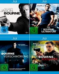 Die Bourne Collection - Jason + Identität + Verschwörung + Ultimatum (5-Blu-ray)