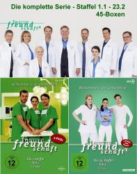 In aller Freundschaft - Die komplette Serie - Staffel 1.1 - 23.2 (DVD)